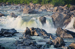 Great Falls on Potomac River in Virginia USA Royalty Free Stock Photos