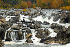 Great Falls of the Potomac Royalty Free Stock Image