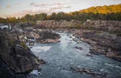 Great Falls State Park royalty free stock photo