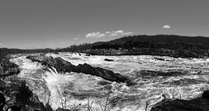 Great Falls. Taken on March 2nd,2015 Royalty Free Stock Images