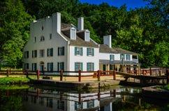 Great Falls-Taverne - C&O-Kanal lizenzfreie stockfotografie