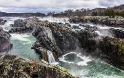 Great Falls, VA imagem de stock