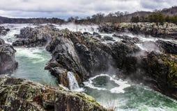 Great Falls VA fotografering för bildbyråer