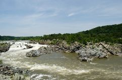 Great Falls Virginia obrazy royalty free