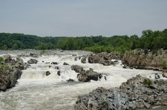 Great Falls Virginia zdjęcie stock