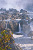 Great Falls, Virginia. An early morning fall photograph of Great Falls, Virginia outside Washingon, DC stock images