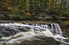 Great Falls von Stümper ` s Nebenfluss-Schlucht Lizenzfreies Stockfoto