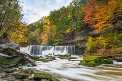 Great Falls z Wielkim kolorem obrazy stock