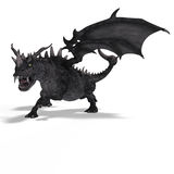 Great Fantasy Dragon Stock Image