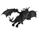 Great Fantasy Dragon. 3D Rendering of a huge Fantasy Dragon with Clipping Path Stock Photography
