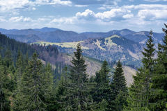 Great fatra mountain range, Slovakia Royalty Free Stock Image