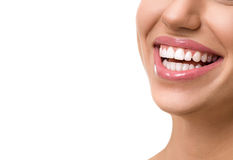 Great female smile Stock Photography