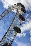 Close-up of the London Eye royalty free stock images