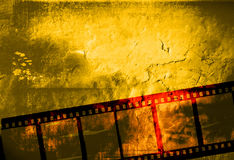 Great film frame. For textures and backgrounds-with space for your text and image Royalty Free Stock Photos