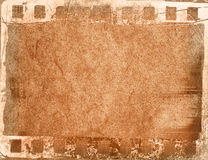 Great film frame Stock Image