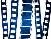 Great film strip. Blue film strip for textures and backgrounds frame Royalty Free Stock Photos