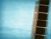 Great film strip. For textures and backgrounds with space Stock Images