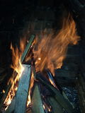 Great fire Royalty Free Stock Photography