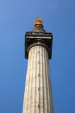 Great Fire of London Monument Stock Photo