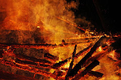 The great fire Royalty Free Stock Photography