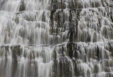 Great Fjallfoss Waterfall on Iceland Stock Image