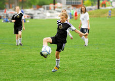 Great footwork! Royalty Free Stock Photos