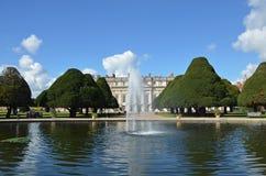 Great Fountain Garden Stock Photo