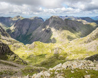 Great Gable from Scafell Pike Stock Photography
