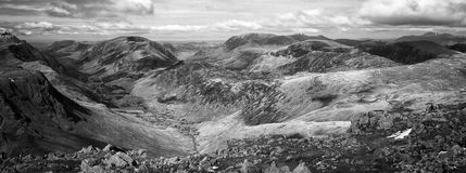 Great Gable View Royalty Free Stock Photography