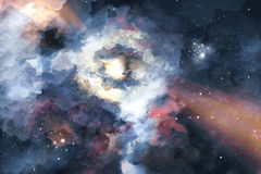 Great galaxy Royalty Free Stock Images