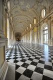 The Great Gallery in the Reggia di Venaria Reale declared World Heritage Site by UNESCO monumental royal palace Venaria Italy Royalty Free Stock Images