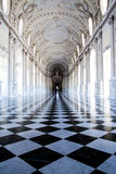 The Great Gallery, in Venaria Royal Palace Royalty Free Stock Photo
