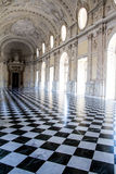 The Great Gallery, in Venaria Royal Palace Royalty Free Stock Image
