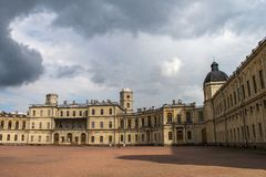Great Gatchina Palace Royalty Free Stock Photos