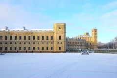 The Great Gatchina Palace in Gatchina, near Petersburg, Russia. Royalty Free Stock Images