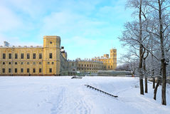 The Great Gatchina Palace in Gatchina, near Petersburg, Russia. Royalty Free Stock Photo