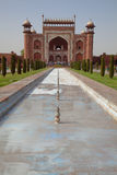 Great Gate entrance to the Taj Mahal Royalty Free Stock Photography