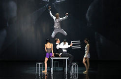 The Great Gatsby Ballet Stock Images