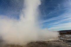 The Great Geysir, geyser in Iceland Royalty Free Stock Photo