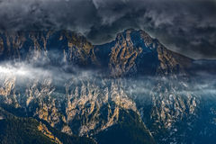 Great Giewont massif Royalty Free Stock Photos