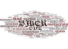 Great Gift Ideas For The Serious Biker Text Background  Word Cloud Concept Stock Photo