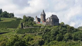 A great goal from Germany, historic castle Stock Photos