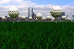 Great Golf course Stock Photos