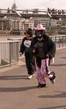 The Great Gorilla Run Royalty Free Stock Photos