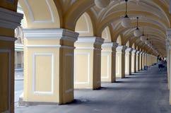Great Gostiny Dvor in Saint-Petersburg. Russia Stock Image