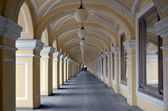 Great Gostiny Dvor in Saint-Petersburg. Russia Royalty Free Stock Photography