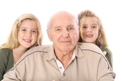 Great grandfather Royalty Free Stock Photography