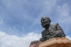 Great grandfather Toud Monument Wat HuayMonKon Stock Photo