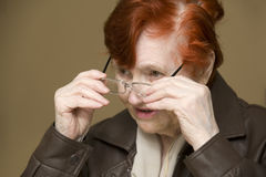Great grandma Stock Photography