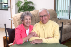 Great Grandparents Royalty Free Stock Images